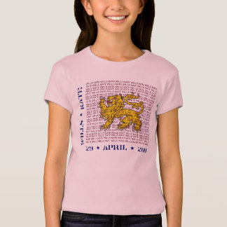 Wills and Kate Royal Couple Kids T-Shirt
