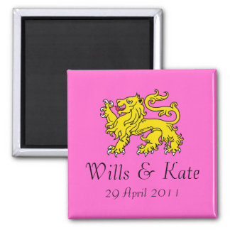 Wills and Kate Royal Wedding Commemorative Magnet