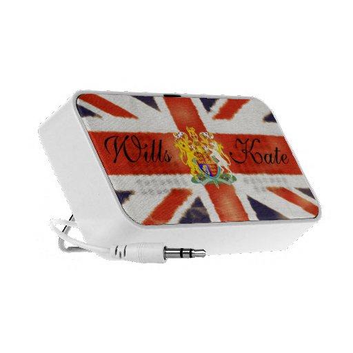 Wills and Kate Royal Wedding Doodle Speaker