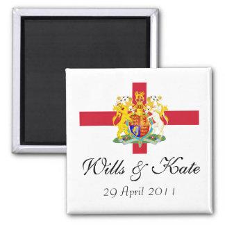 Wills and Kate Royal Wedding Keepsake Magnet