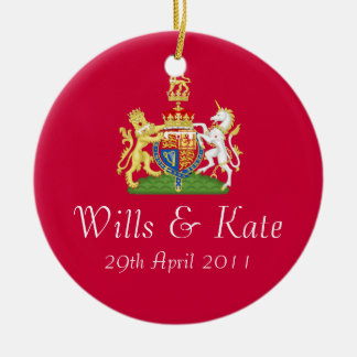 Wills And Kate Royal Wedding Keepsake Ornament