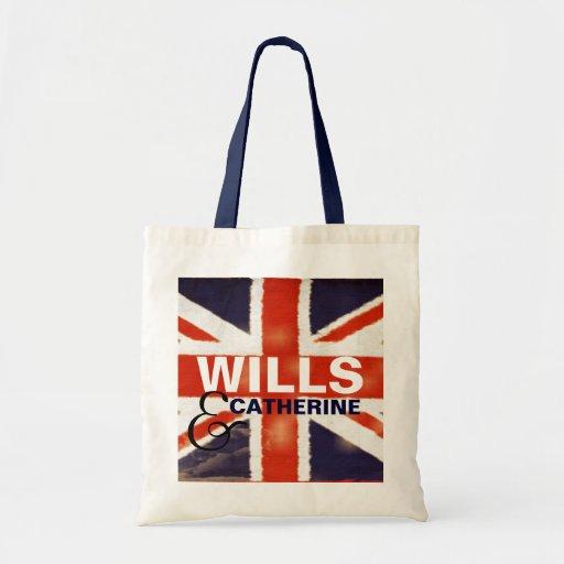 WILLS & CATHERINE Tote Bag