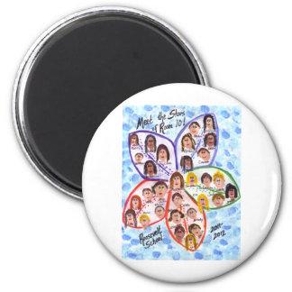 Wills Class Art 2 Inch Round Magnet