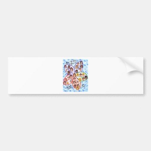 Wills Class Art Bumper Sticker