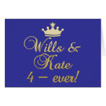 Wills & Kate 4-Ever T-shirts, Mugs, Gifts Greeting Cards