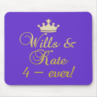 Wills & Kate 4-Ever T-shirts, Mugs, Gifts Mouse Pad