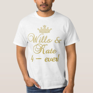 Wills & Kate 4-Ever T-shirts, Mugs, Gifts T-Shirt
