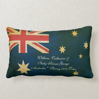 Wills Kate and Baby George Australia 2014 Pillow