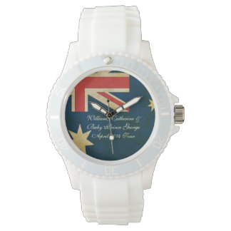 Wills Kate and Baby George Australia 2014 Watch