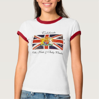Wills, Kate and Royal Baby Commemorative T-Shirt