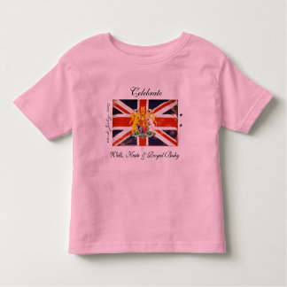 Wills, Kate and Royal Baby Kids T-Shirt