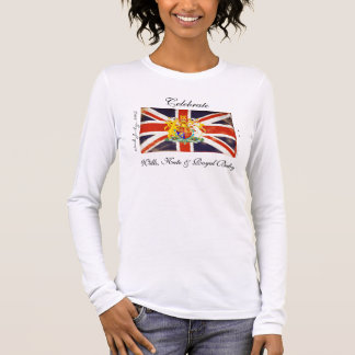Wills, Kate and Royal Baby Long Sleeve T-Shirt