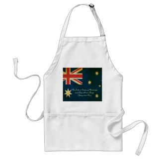Wills Kate Baby George Australia 2014 Apron
