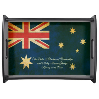 Wills Kate Baby George Australia 2014 Serving Tray