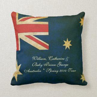 Wills Kate Baby George Australia 2014 Throw Pillow
