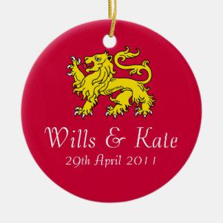 Wills & Kate Commemorative Gift Ornament