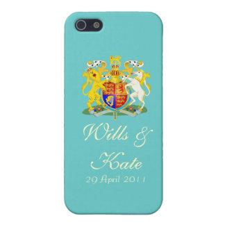 Wills & Kate Commemorative iPhone 5 Case (Aqua)