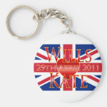 Wills & Kate Key Chains
