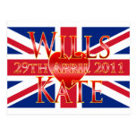 Wills & Kate Postcards