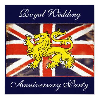 Wills & Kate Royal Wedding Anniversary Invitations