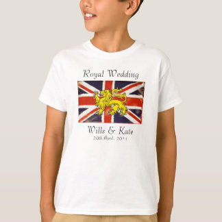 Wills & Kate Royal Wedding Kid's T-Shirt