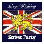 Wills & Kate Royal Wedding Street Party Invitation