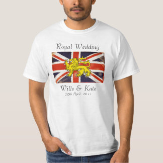 Wills & Kate Royal Wedding T-Shirt (Basic)