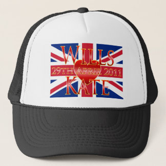 Wills & Kate Trucker Hat