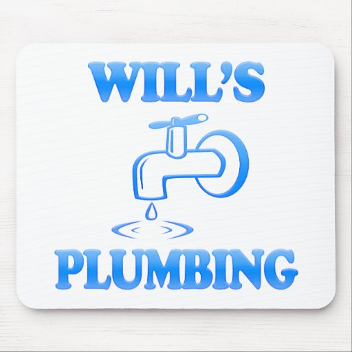 Will's Plumbing Mouse Mats