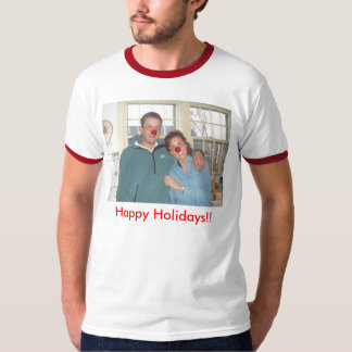Wills - Rudolph, Happy Holidays!! - Customized Shirts
