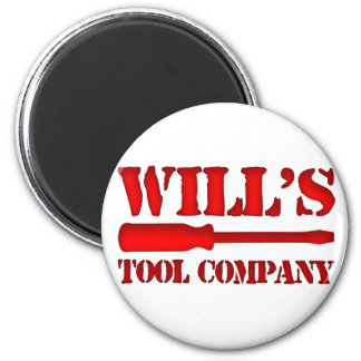 Will's Tool Company 2 Inch Round Magnet