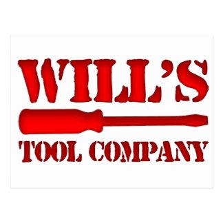 Will's Tool Company Postcard