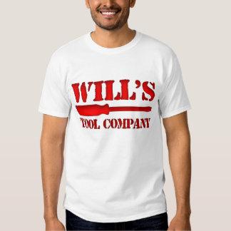 Will's Tool Company T Shirt