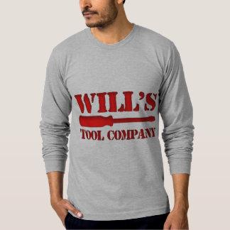 Will's Tool Company Tee Shirt