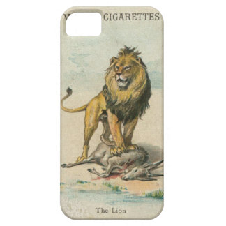 Wills's Collectible Cigarette Cards - The Lion iPhone SE/5/5s Case