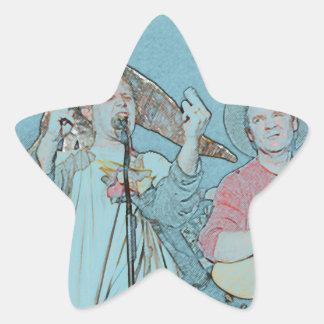 Willy and Rand--Wild's Skit Star Sticker