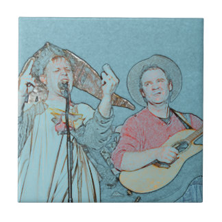 Willy and Rand--Wild's Skit Tile