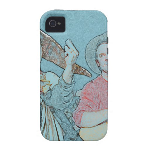 Willy and Rand--Wild's Skit Vibe iPhone 4 Cover