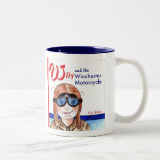 Willy and the winchester Motorcycle Two-Tone Coffee Mug
