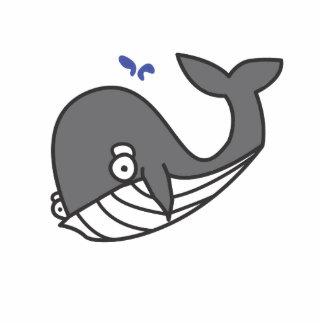 Willy el gris de la ballena escultura fotografica