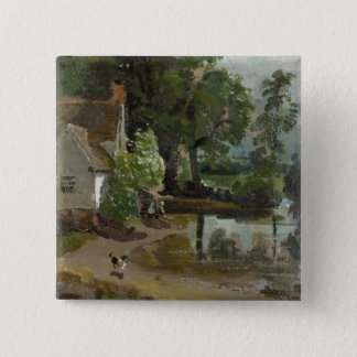 Willy Lott's House, near Flatford Mill, c.1811 (oi Button