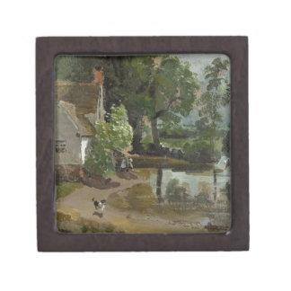 Willy Lott's House, near Flatford Mill, c.1811 (oi Premium Keepsake Boxes