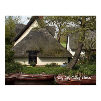 Willy Lott's Quaint Thatched Cottage, Flatford Postcard