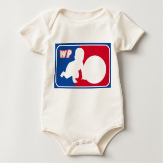 Willy Pat NBA style Baby Bodysuit