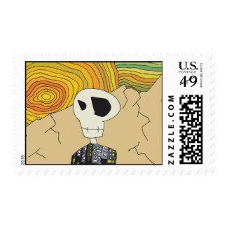 Willy Skullhead Stamp