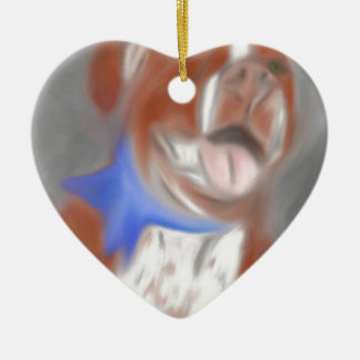 Willy the Pittie Ceramic Ornament