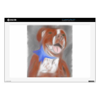 "Willy the Pittie Decals For 17"" Laptops"
