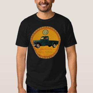 Willys 1 ton truck t-shirt