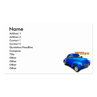 Willys Business Card