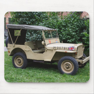 Willys MB Jeep Mouse Pad